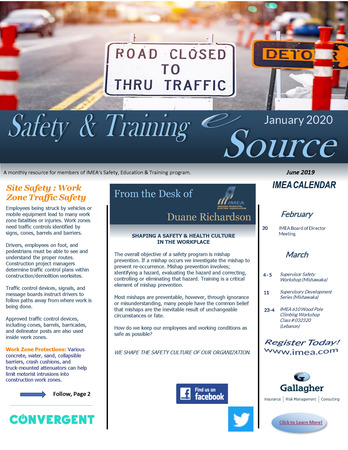 2020 January Safety & Training eSource
